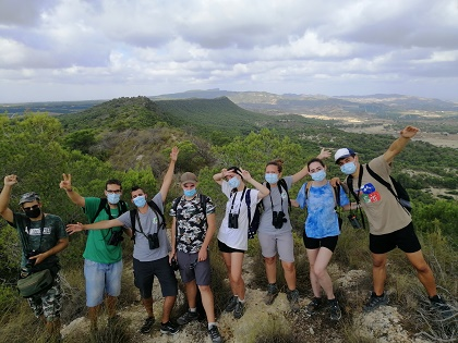 Programa de voluntariado ambiental para la prevención de incendios forestales en Orihuela