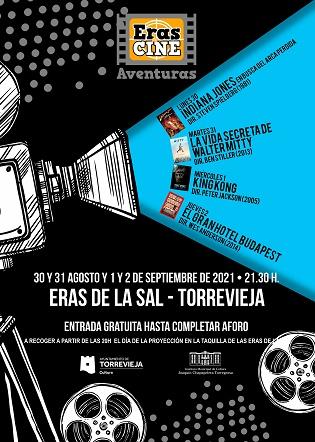 Eras de cine en Torrevieja dedica su próxima edición al género de aventuras