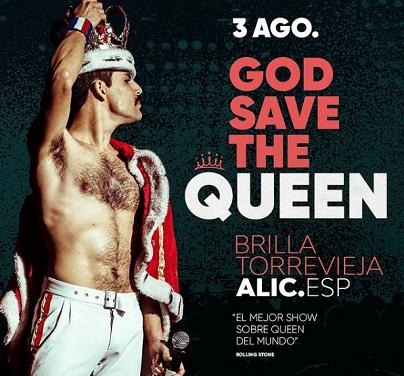 La banda tribut a Queen més important del món celebrarà els seus 50 anys sobre els escenaris en el Festival Brilla Torrevieja