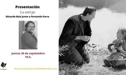 """Presentació de """"La Estirpe"""", d'Eduardo Boix"""