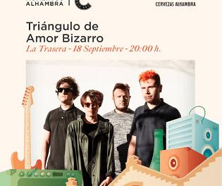 Triángulo de Amor Bizarro presenta su disco homónimo en Momentos Alhambra Las Cigarreras