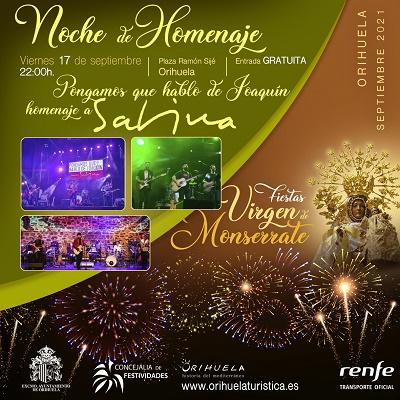 Dos magnífics concerts tancaran els actes programats amb motiu de la festivitat de la patrona la Verge de Monserrate a Oriola