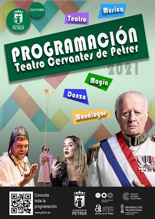 El Teatro Cervantes de Petrer levanta el telón de la nueva temporada con un lleno absoluto para el espectáculo de Martita de Graná
