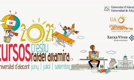 El programa de Cursos de Verano Rafael Altamira de la UA continúa en septiembre con 5 propuestas