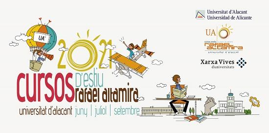 El programa de Cursos d'Estiu Rafael Altamira de la UA continua al setembre amb cinc propostes