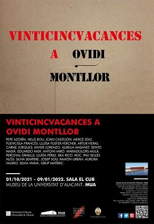 Llega al MUA la exposición colectiva «Vinticincvacances. A Ovidi Montllor»