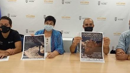 Turismo de Villena programa un Scape Room en el Castillo de la Atalaya en su programación de actividades de otoño