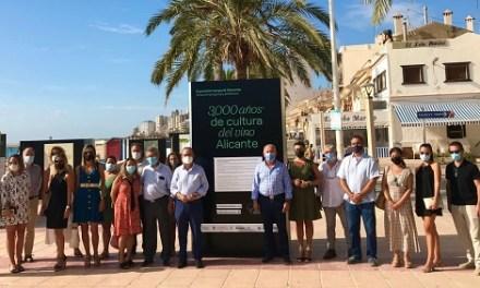 """Se inaugura """"3000 años de cultura del vino Alicante"""" en el Paseo Marítimo de El Campello"""