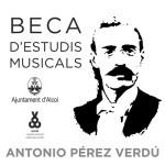 Publicadas las bases de la XXXII convocatoria de la beca de estudios musicales Antonio Pérez Verdú 2021