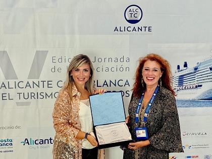 La Confederación Nacional de Guías España reconoce al castillo de Santa Bárbara como un referente turístico