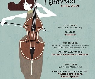 Cultura d'Altea presenta una nova edició de Festival de Música Antiga i Barroca