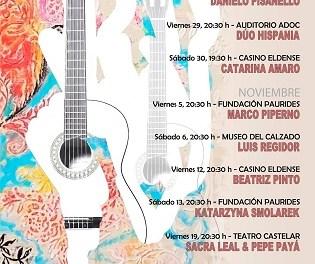 Las Jornadas Internacionales de Guitarra de Elda celebran su edición número 13 retomando los conciertos con público