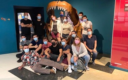 El MUPE se convierte en aula de formación para el Máster de Paleontología
