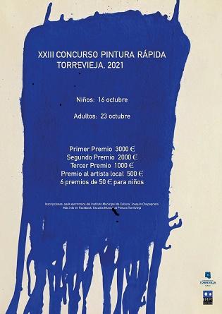 El Instituto Municipal de Cultura de Torrevieja retoma el concurso de pintura rápida tras seis años sin celebrarse