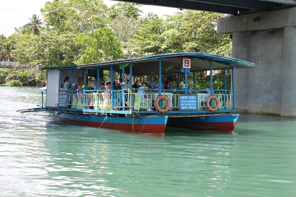 Loboc river dinner cruse