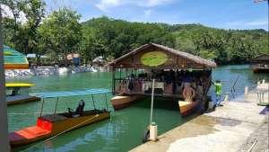 Floating restaurant loboc riverwatch bohol dock