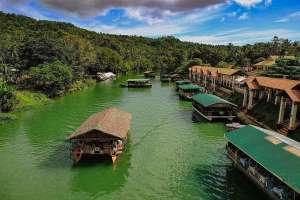 Loboc riverwatch floating restaurant loboc river bohol philippines 067