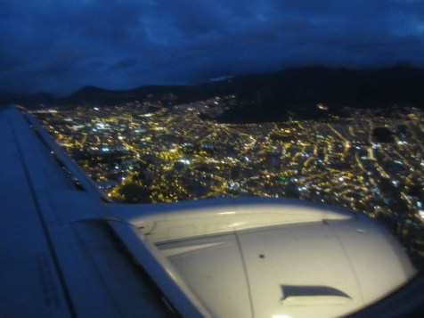 Pack Leader says this is Quito