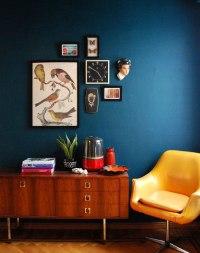 DARK BLUE INTERIOR INSPIRATION - Lobster and Swan