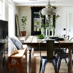 Bohemian Style Living Room Mini Bar Beautiful Books - Botanical Selina Lake Lobster ...