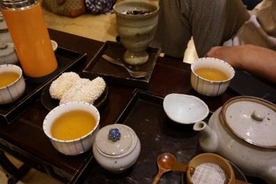 traditional tea house