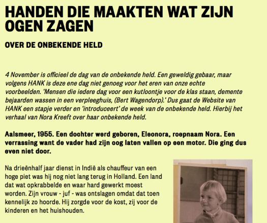 Wil je meer lezen klik dan op de link naar www.WebsitevanHank.nl