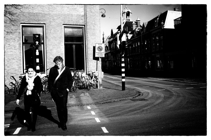 Walking up-town Haarlem