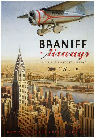 cs52~Braniff-Airways-Manhattan-New-York-Posters