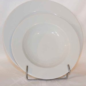 Assiettes Blanches - loca-vaisselle Location de vaisselle - matériel de réception