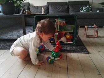 juguetes en la casa