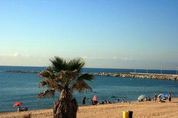 Platja La Mar Bella, Barcelona