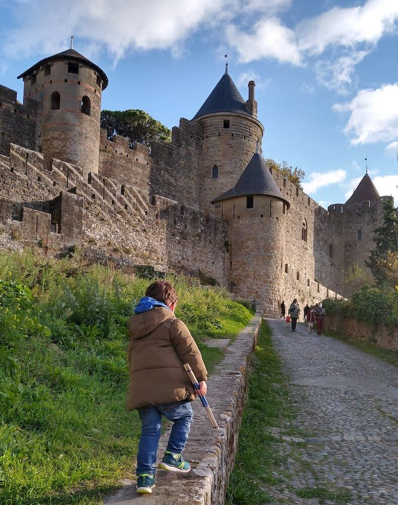 castillo carcassone rampas 1