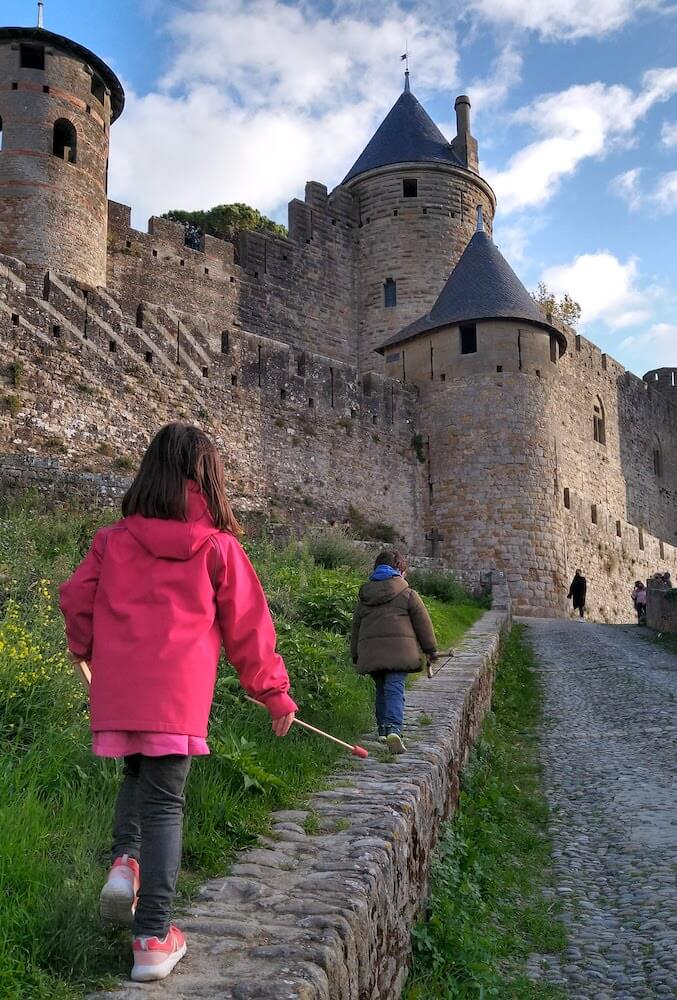 castillo carcassone rampas 2