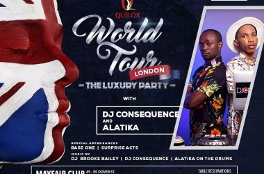 Quilox World Tour, London