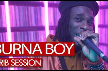 Crib Session With Burna Boy On Tim Westwood