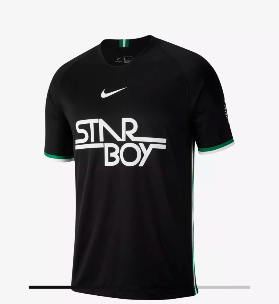 Front view Starboy FC Jerseys