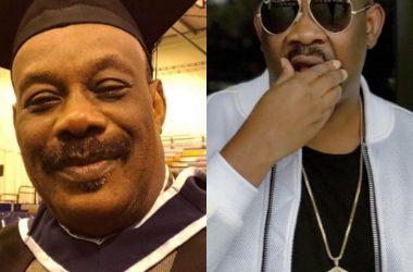 Don Jazzy Celebrates Dad As He Graduates From University