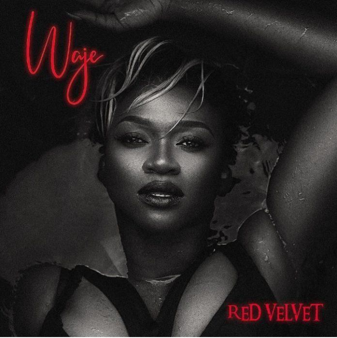 Waje - Red Velvet Covert Art