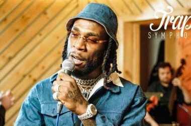 Burna Boy Performs At Audiomack Trap Symphony