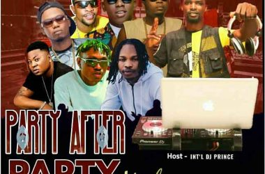 Int'l DJ Prince - Party After Party Mixtape