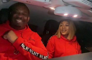 Don Jazzy Features On Tasha's Karaoke VLog