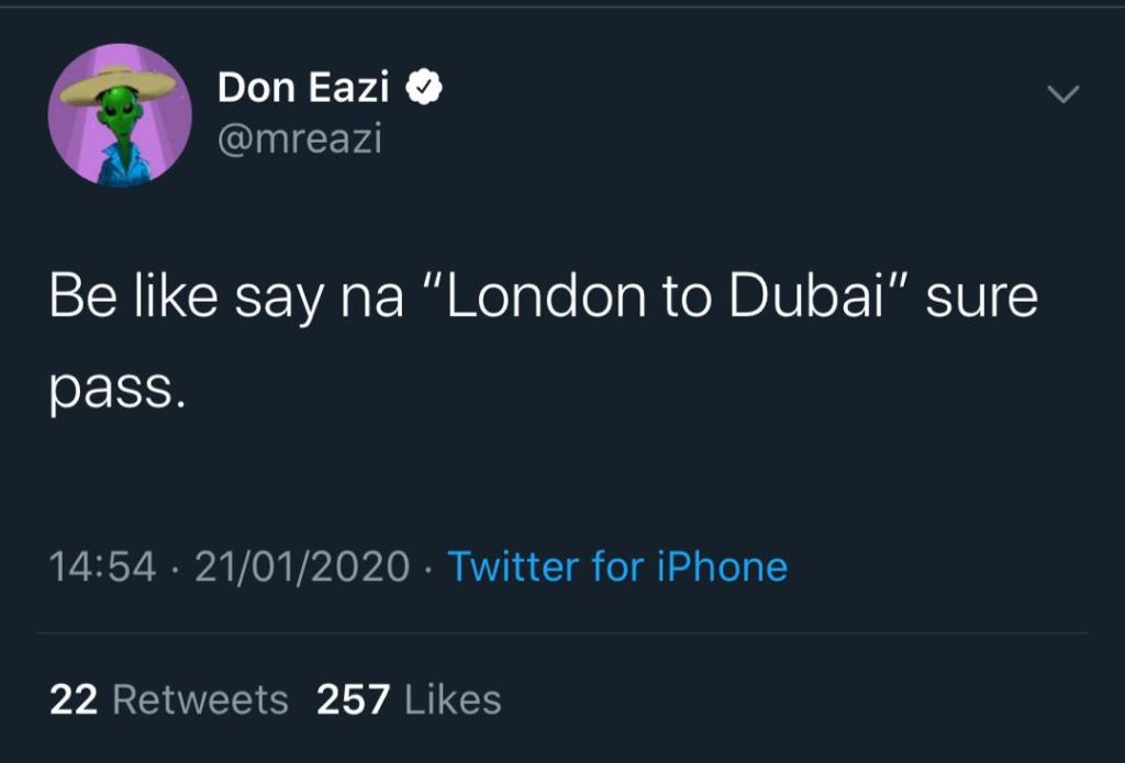 Mr Eazi Shares Hint On The Title Of His Next Album