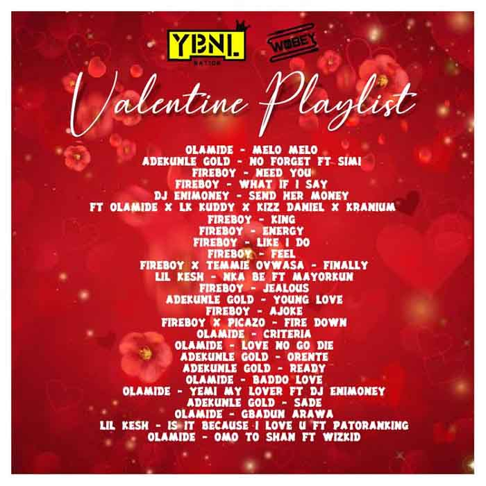 DJ Enimoney – Valentine's Playlist