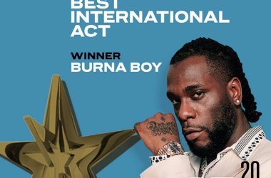 Burna Boy Wins Best International Act Award at #BETAwards2020