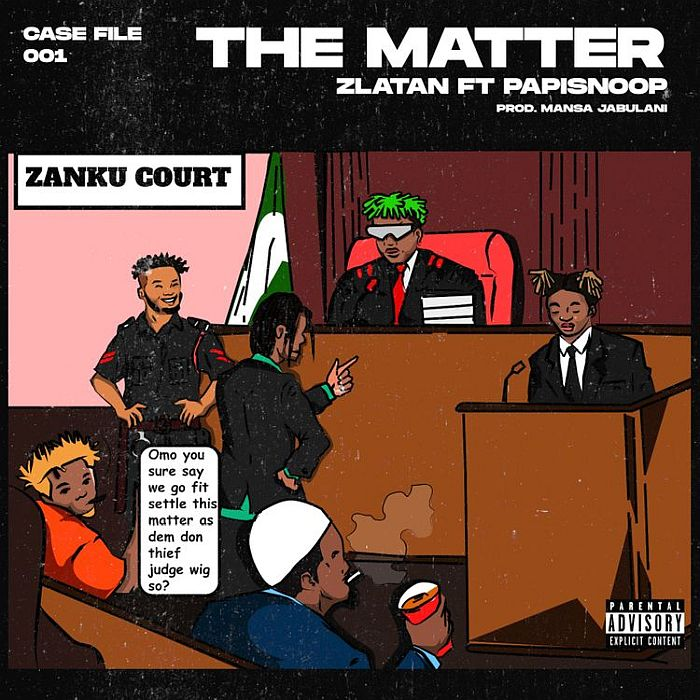 Zlatan ft. Papisnoop – The Matter