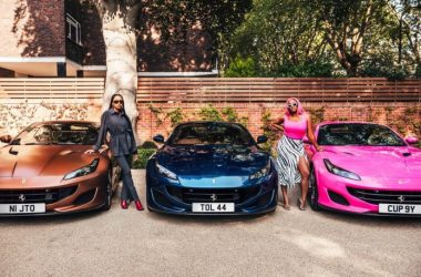 DJ Cuppy & Sisters Get New Ferrari Each