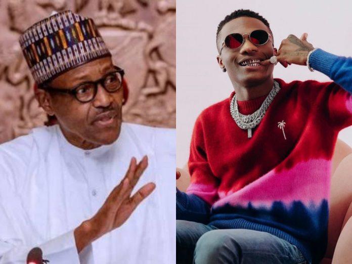 Wizkid Calls Out Buhari
