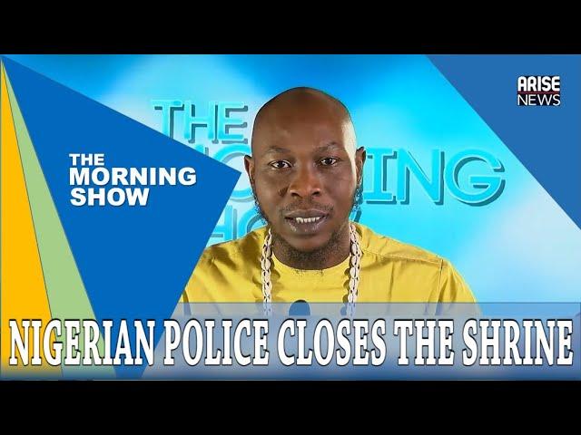 Seun Kuti Speaks On The Shutdown of Afrika Shrine