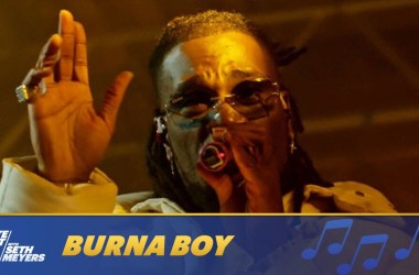 Burna Boy Performs Way Too Big On Late Night with Seth Meyers