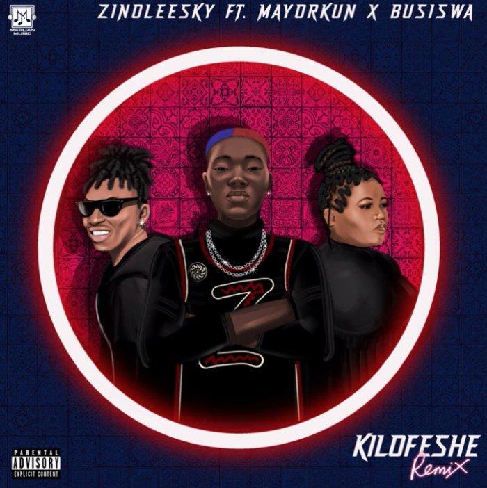 Zinoleesky ft. Mayorkun x Busiswa – Kilofeshe (Remix)